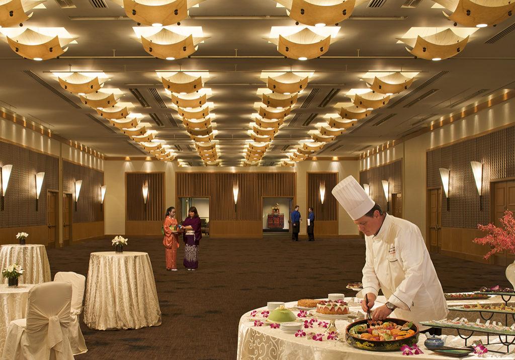 Chef at Hotel Nikko San Francisco's Ballroom
